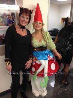 Gnome Sitting on a Mushroom Costume