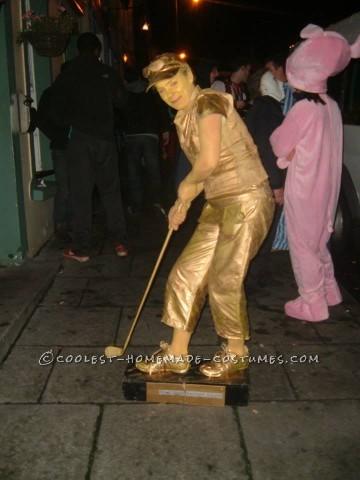Cool DIY Golf Trophy Costume