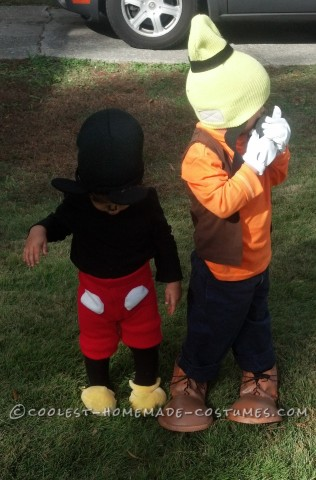 Easy Homemade Goofy Costume