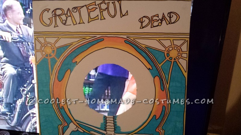 Grateful Dad 3D Album Cover Costume