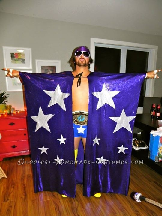 Greatest Macho Man Costume Ever!