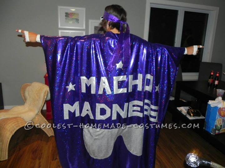 Greatest Macho Man Costume Ever!