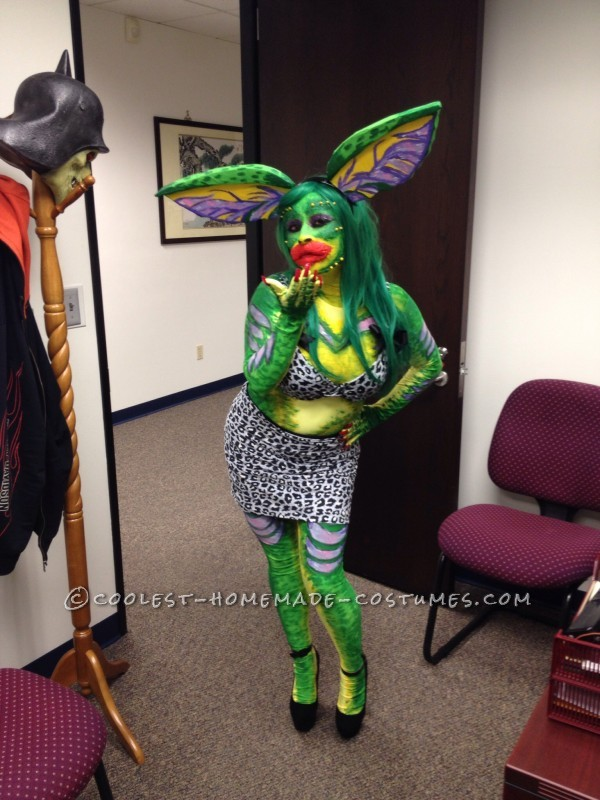 Sexy Greta Gremlin Costume from Gremlins 2 Movie - 1