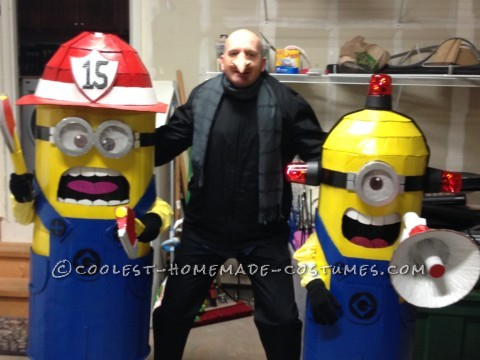 Coolest Gru and his Minions Family Halloween Costume