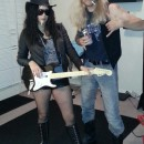 Guns N Roses Last-Minute Couple Halloween Costume