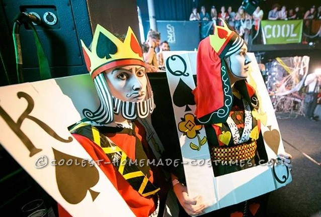 A Royal Pair: King of Spades and the Black Maria Couple Costume - 4
