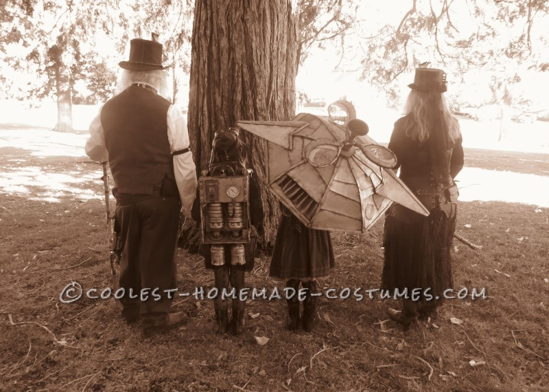 Halloween Steampunk Style Family Costume - 7
