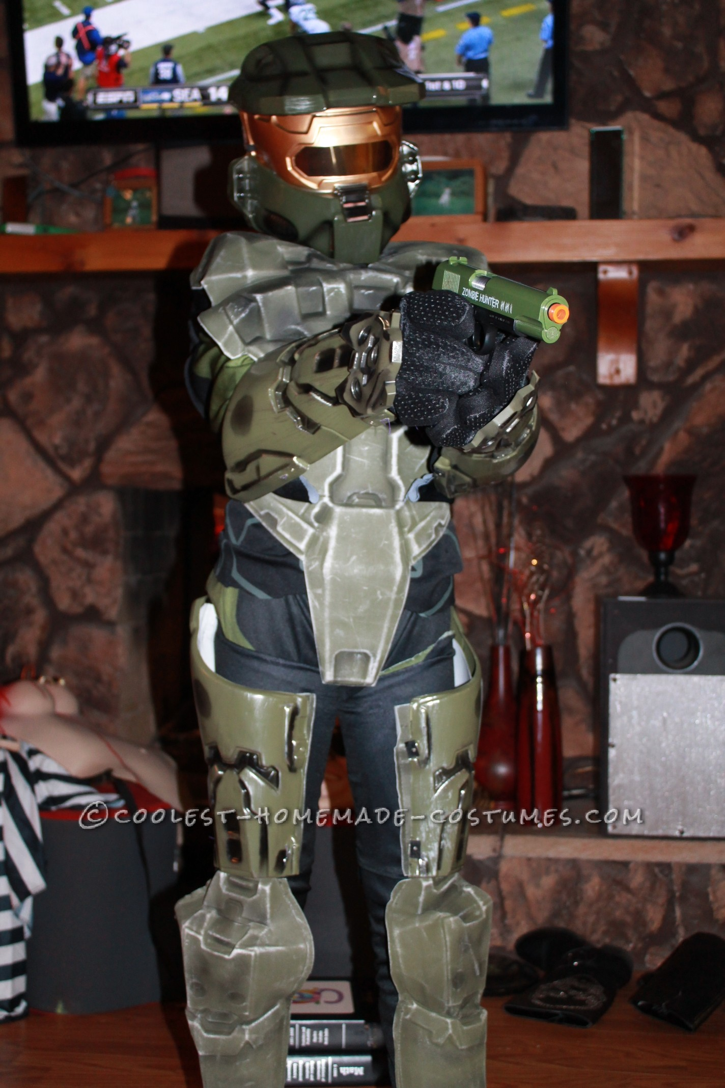 Cool Halo 3 Master Chief Halloween Costume