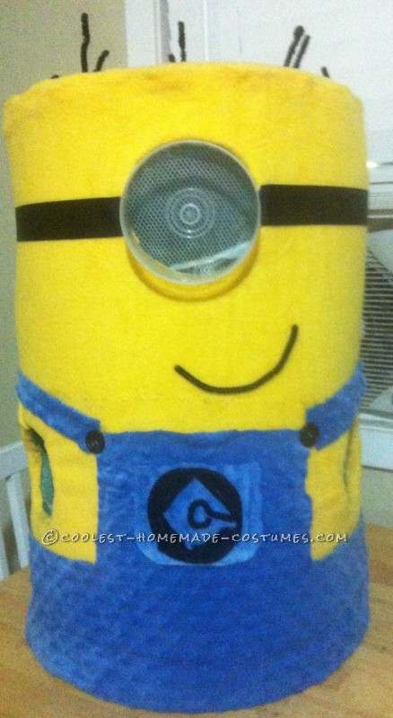 Head-Turning Minion Costume for a 5 Year Old Boy