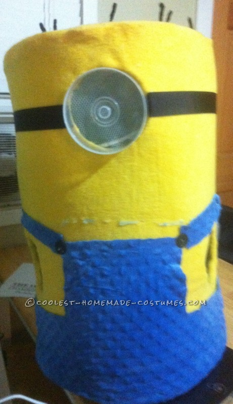 Head-Turning Minion Costume for a 5 Year Old Boy - 2