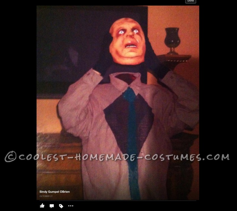 DIY Illusion Costume: Headless Person Holding His Head! - 1