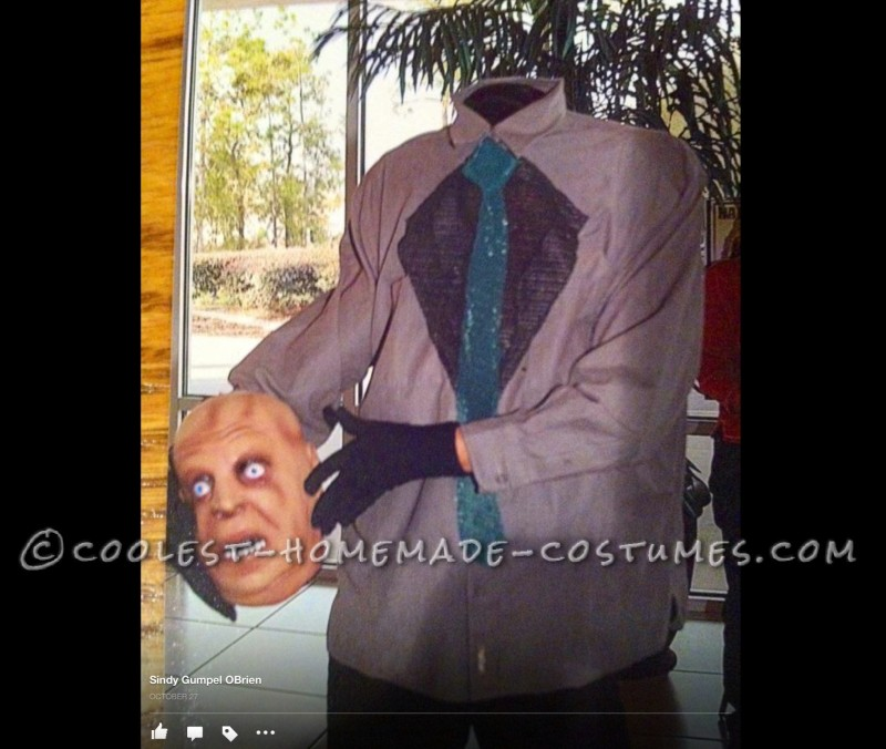 DIY Illusion Costume: Headless Person Holding His Head!