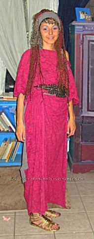 Homemade Hera - Queen Goddess Costume