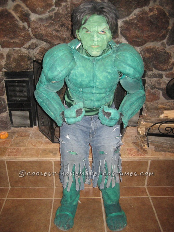 Cool Homemade Hulk, Storm, Captain America and Joker Costumes