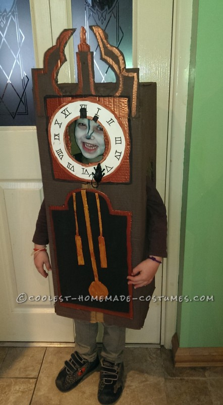 Hickory Dickory Dock Nursery Rhyme Costume