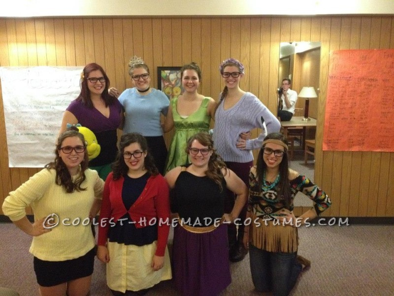 Thrift-Store Girl Group Costumes: Hipster Disney Princesses and Friends - 1