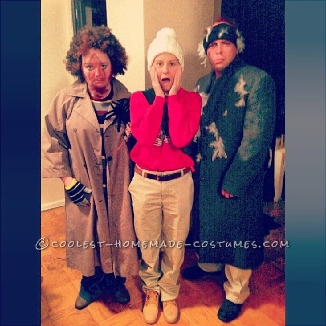 Home Alone Group Costume: Kevin and the Wet Bandits