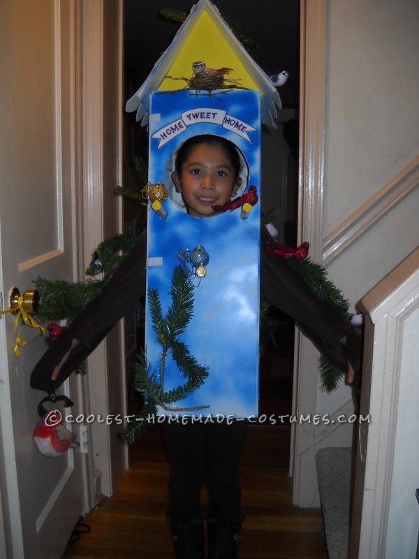 Cool Birdhouse Halloween Costume: Home Tweet Home!