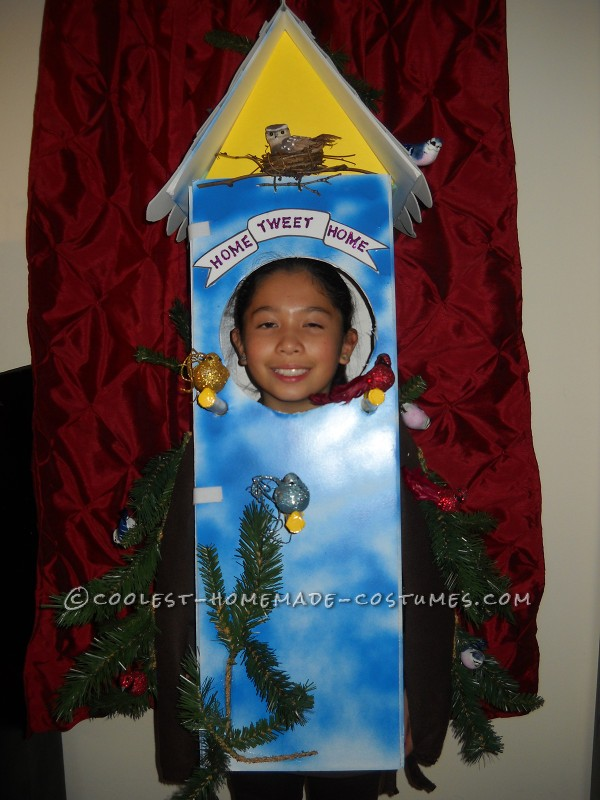 Cool Birdhouse Halloween Costume: Home Tweet Home!