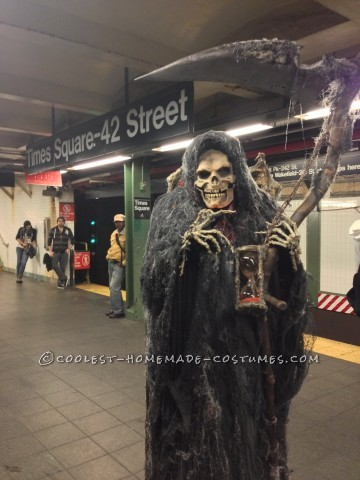 Homemade Angel of Death Grim Reaper Costume