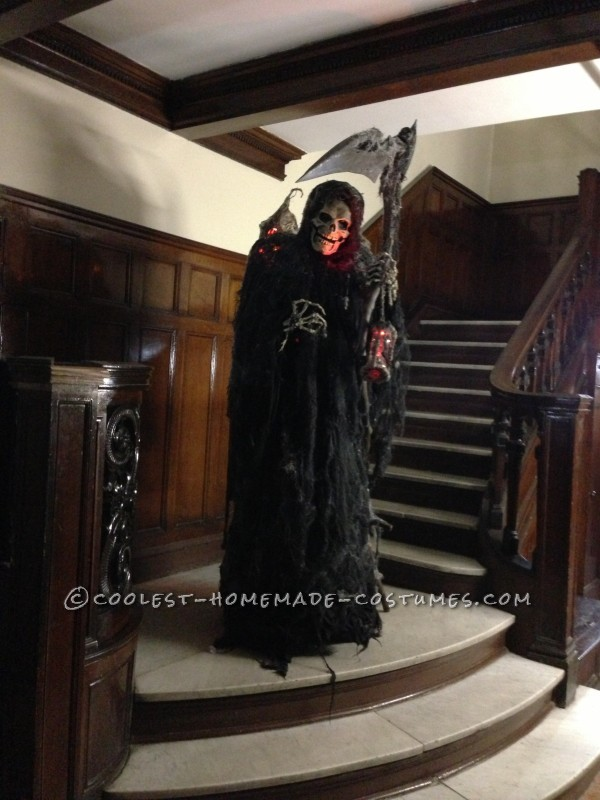Homemade Angel of Death Grim Reaper Costume - 6