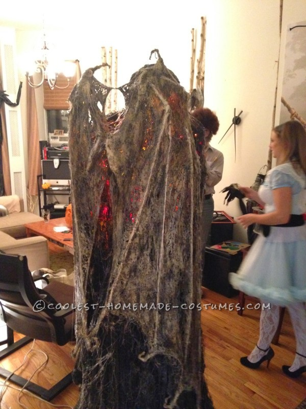 Homemade Angel of Death Grim Reaper Costume - 8