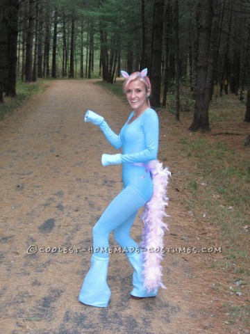 Cute Homemade My Little Pony Costume