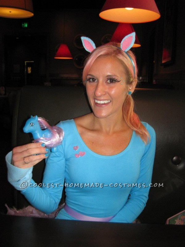 Cute Homemade My Little Pony Costume - 4