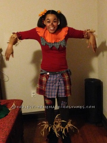 Homemade Scarecrow Family Costumes