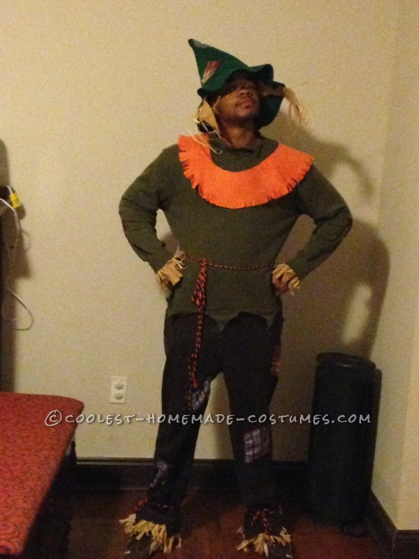 Homemade Scarecrow Family Costumes - 6