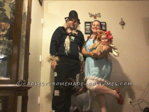 Cool Homemade Wizard of OZ Costumes for the Family