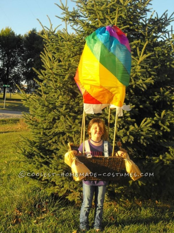 Cool Hot Air Balloon Halloween Costume