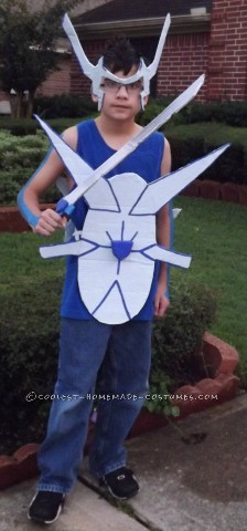 Human Dialga Costume: The Pokemon of Time