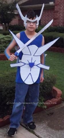 Human Dialga Costume: The Pokemon of Time