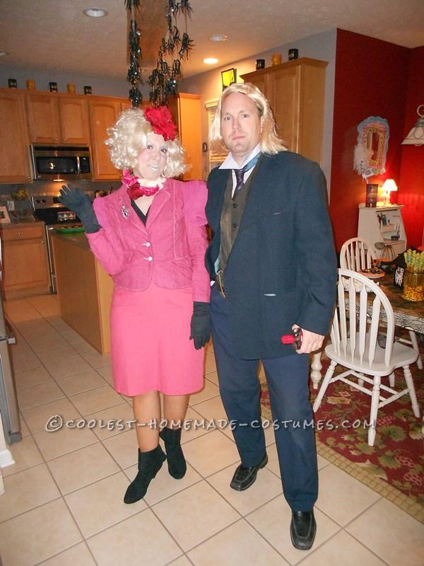 Effie Trinket and Haymitch Abernathy