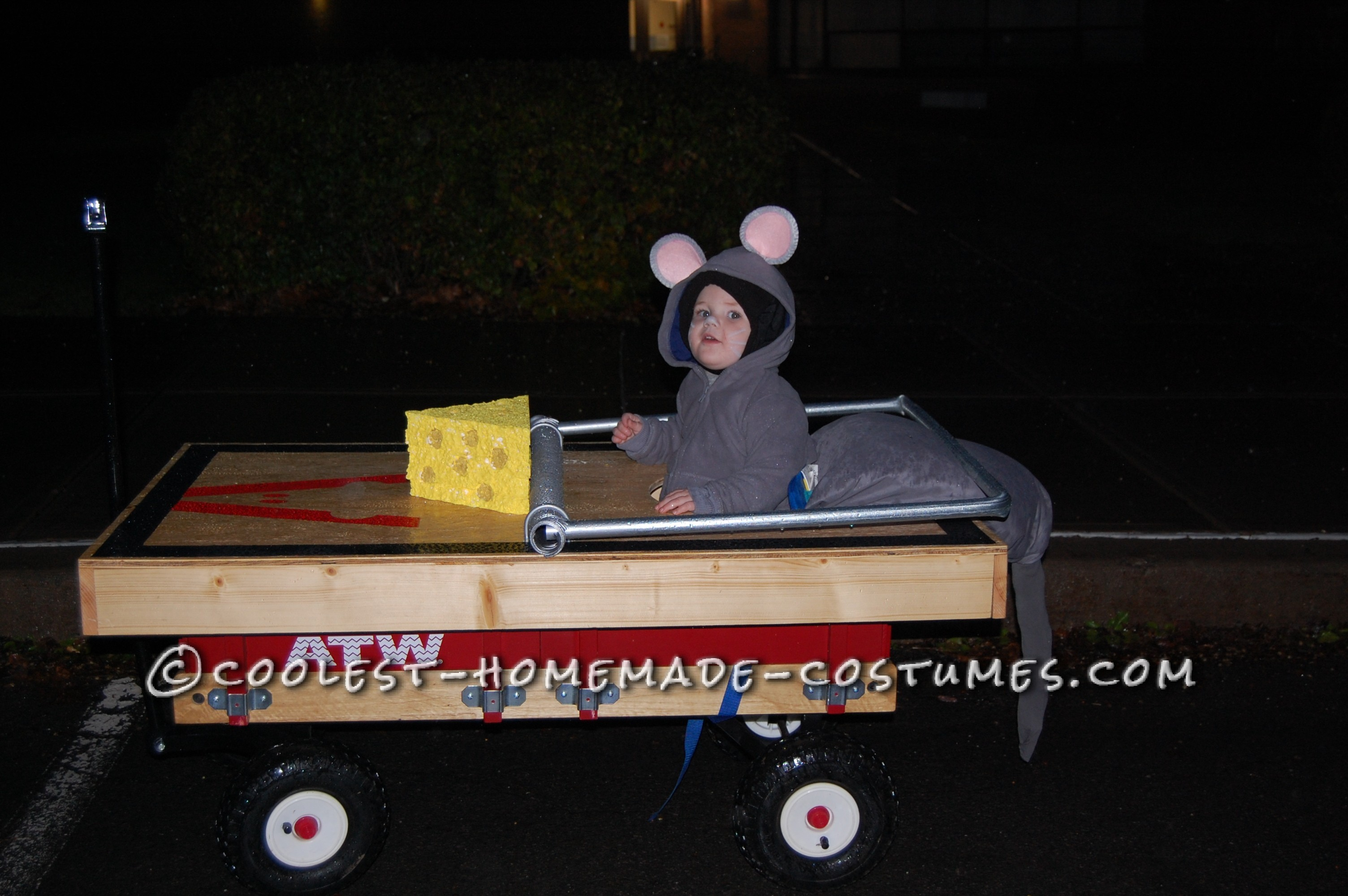 Mouse in a Trap Toddler Halloween Costume