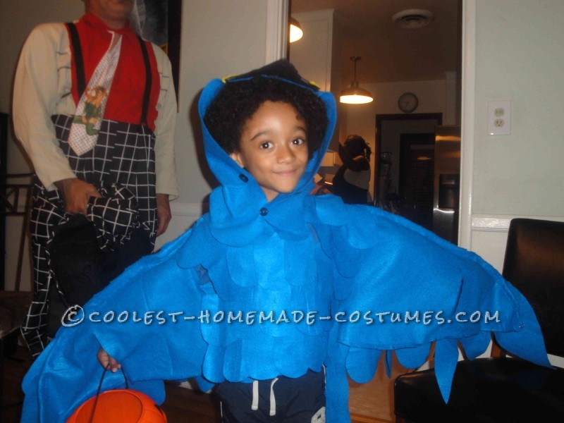 Getting ready to trick or treat