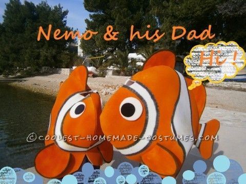 Cool Finding Nemo Group Costumes