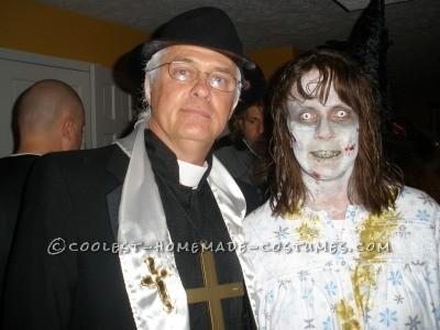 Contest-Winning Exorcit Couple Costume
