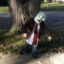 Plants vs. Zombies Flag Zombie Costume: I want BRAINS!