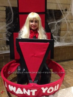 """Cool DIY Christina Aguilera on The Voice Costume: """"I Want You!"""" - 1"""