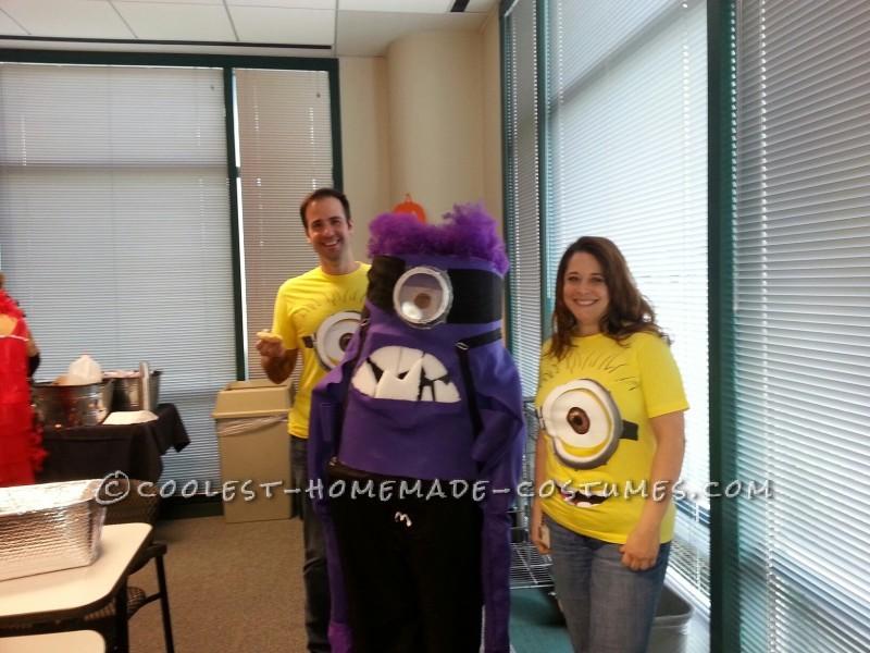 DIY Purple Minion Halloween Costume