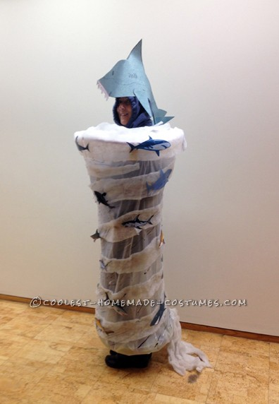 Homemade Sharknado Costume That'll Blow You Away!