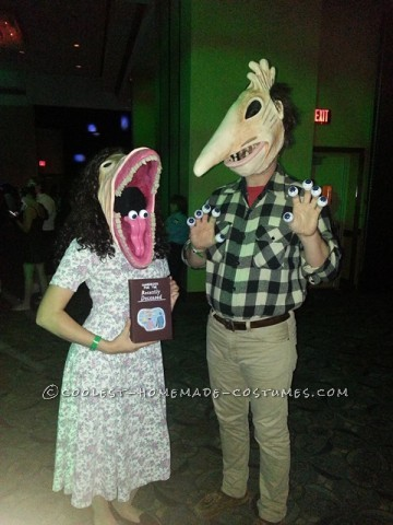 Contest-Winning Homemade Maitlands Couple Costume