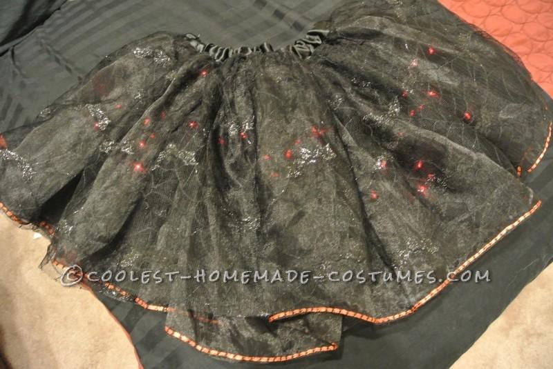 Skirt with lights