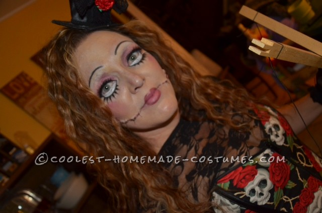 Creepy Marionette and Puppeteer Couple Halloween Costume - 3