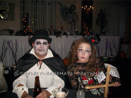 Creepy Marionette and Puppeteer Couple Halloween Costume - 4