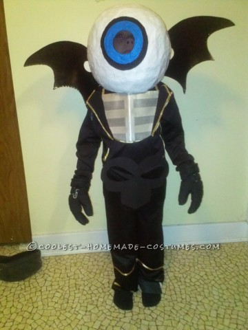 Inexpensive Costume: Eyebrawl from Skylanders