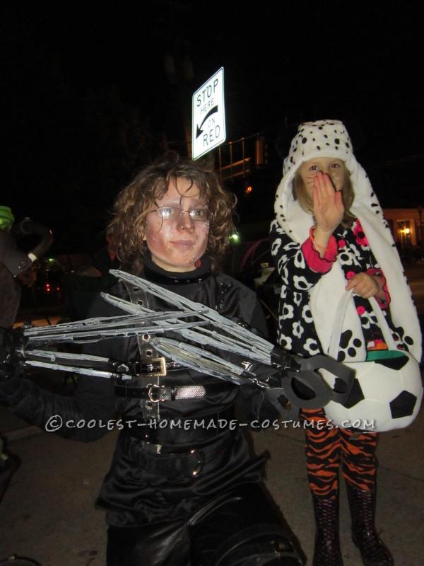 Ingenious Homemade Edward Scissorhands Costume