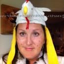 Witty Homemade Wordplay Costume Idea: Chicken Pox